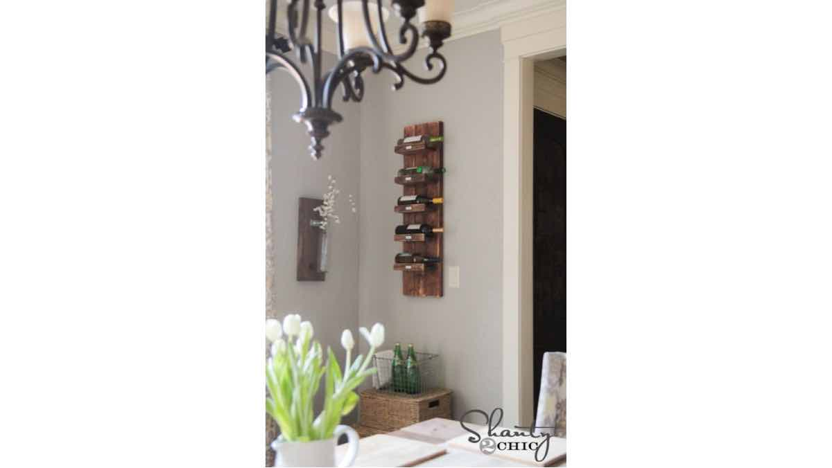 wine racks,wooden,diy,free woodworking plans,free projects,do it yourself,wall mounted