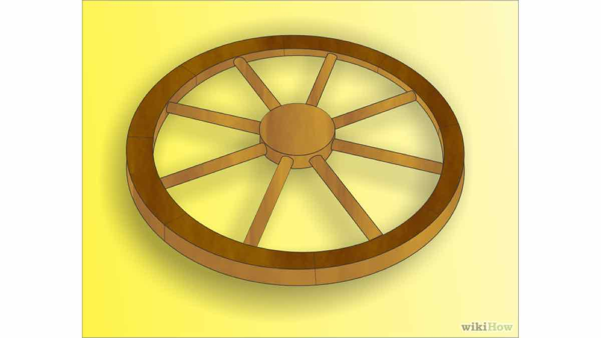 wagon wheels,wooden,diy,free woodworking plans,free projects,do it yourself,wagons