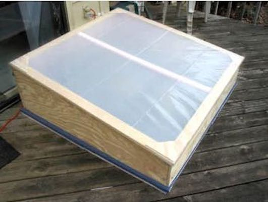 Free plans to build a Cold Frame for Gardening.