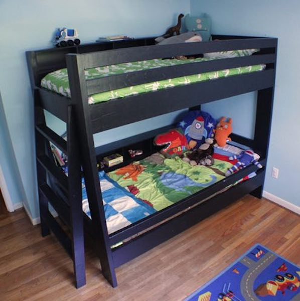Free plans to build a Bunk Bed.