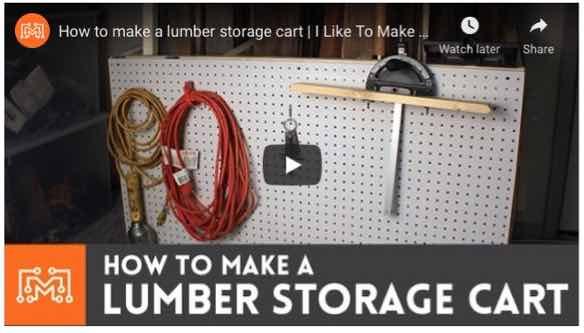 lumber storage,racks,workshops,diy,free woodworking plans,workshop projects,do it yourself