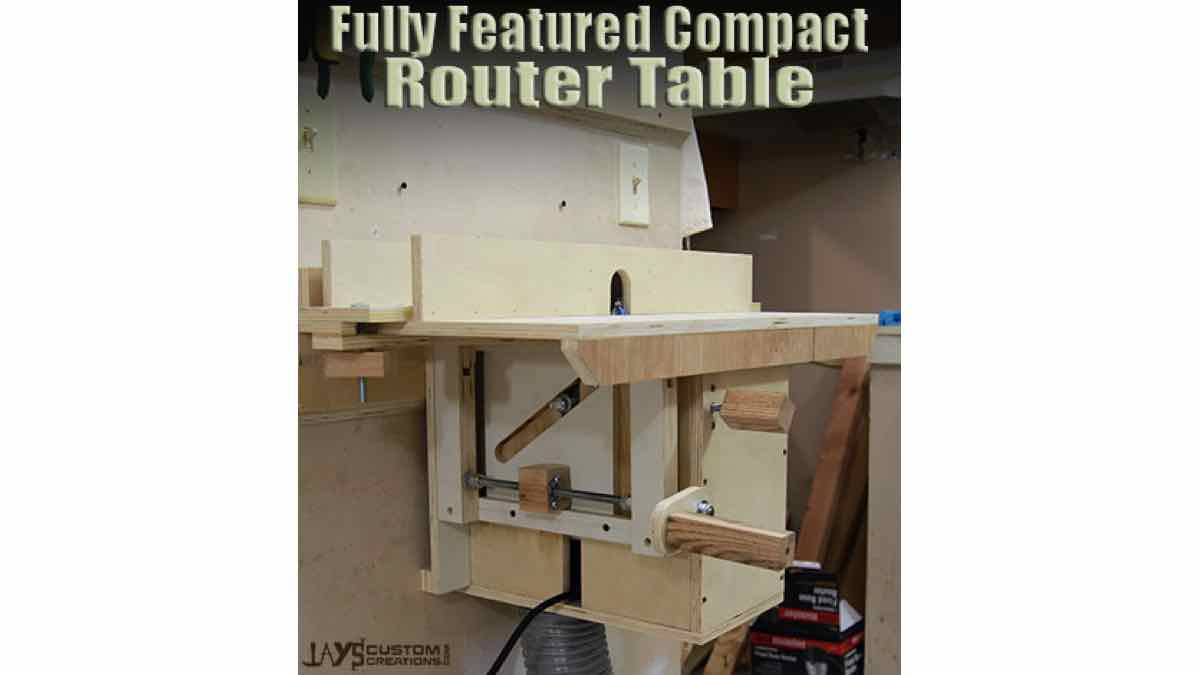 Jay shows us How to build a French Cleat Router Table.