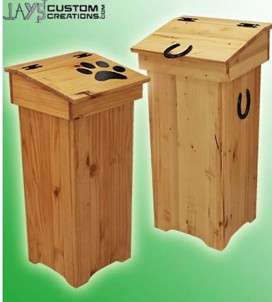 Free plans to build a Trash Can PDF.