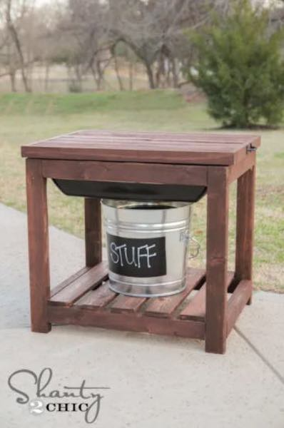Free plans to build a Sandbox Table.