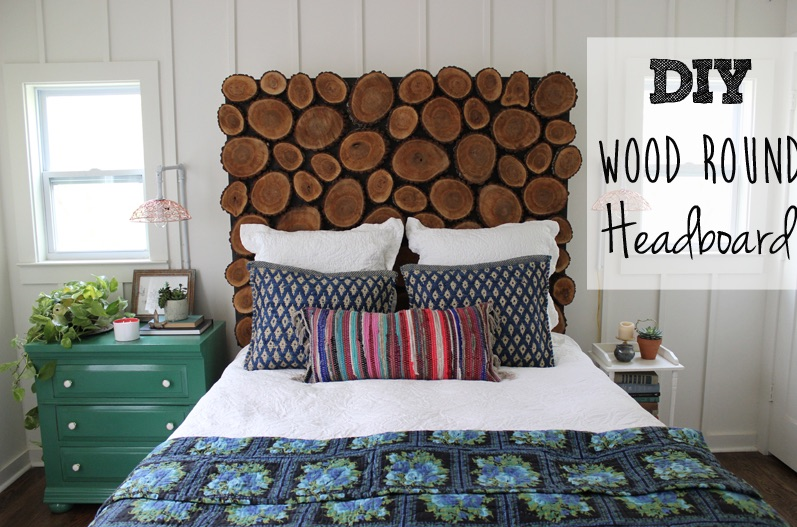 How to build a Wood Round Headboard free project.