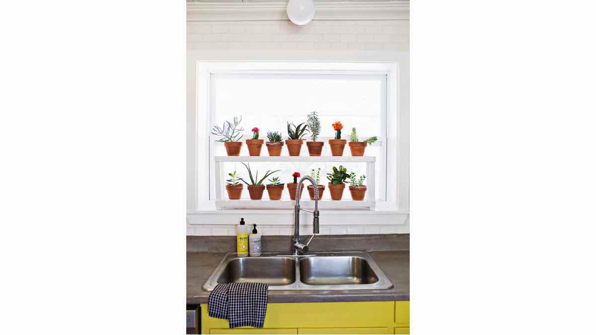 plant stand,plant shelf,window plant shelf,diy,free woodworking plans,free projects,do it yourself