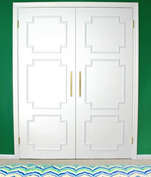 Here is how you give a Flat Door an Upgrade.
