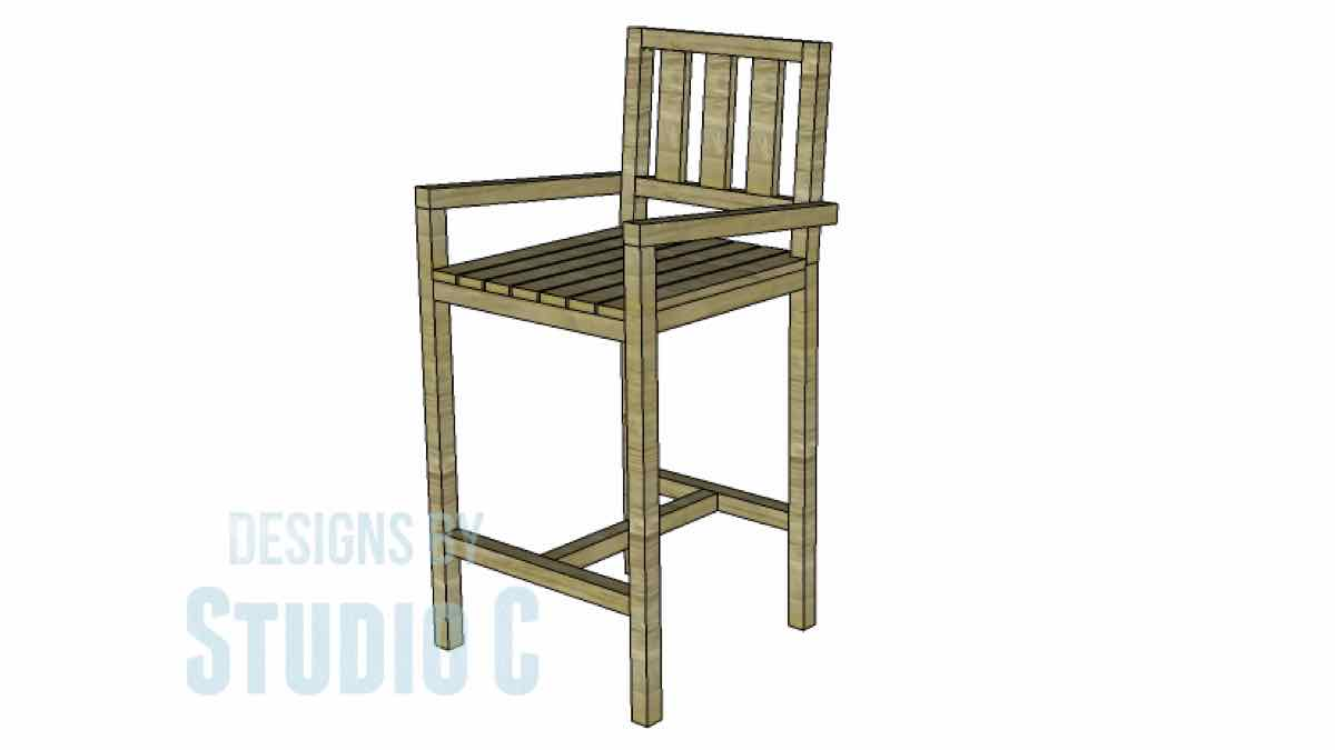 barstools,furniture,diy,free woodworking plans,free projects,do it yourself
