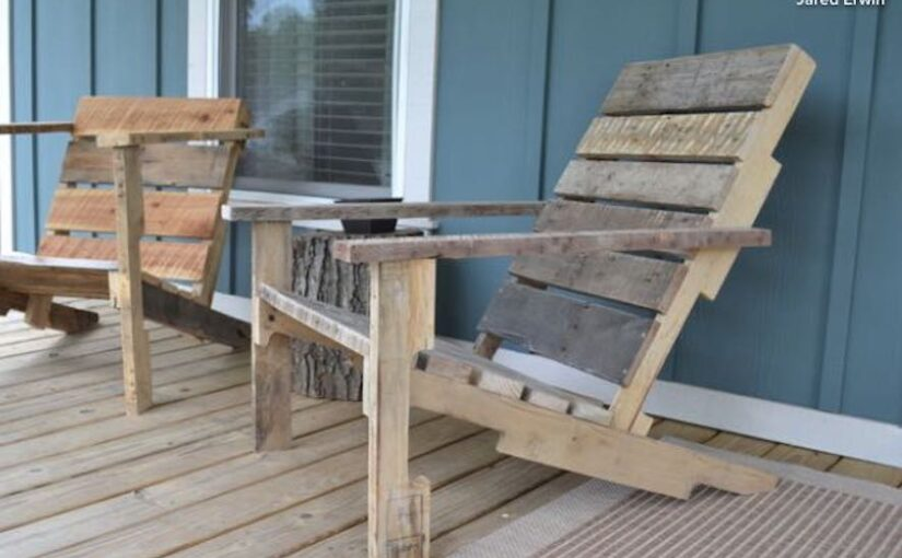 Deck Chair from a Pallet