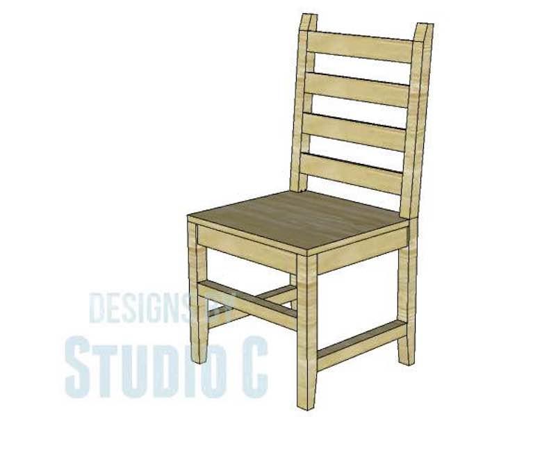 Build a Daniela Dining Chair using free plans.