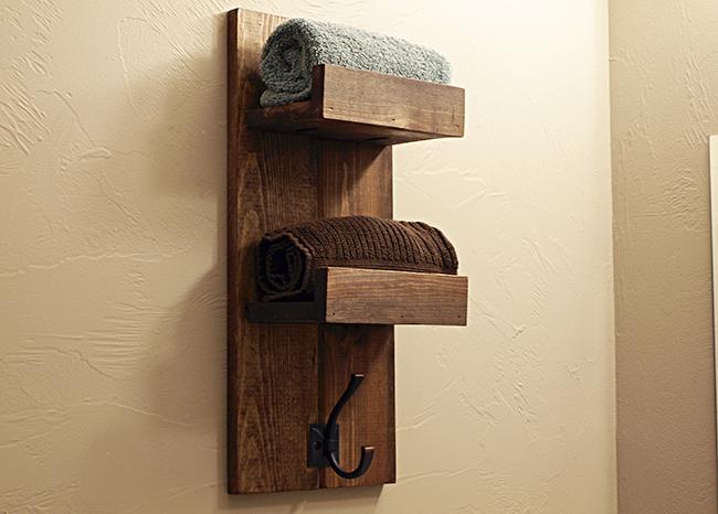 Build your own custom Towel Rack.