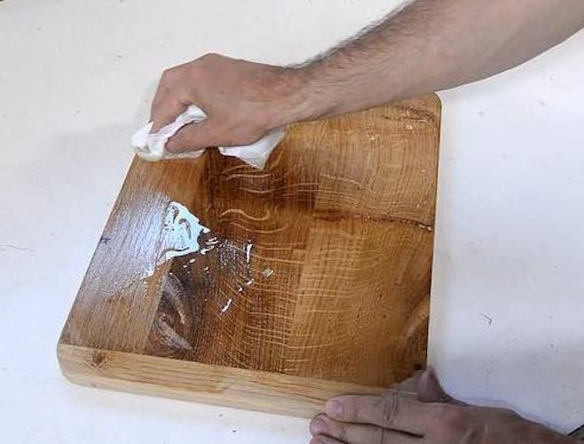 Build a Sturdy Cutting Board using free plans.