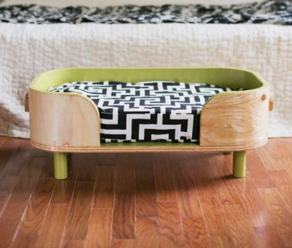 Build a Modern Pet Bed For Small Dog.