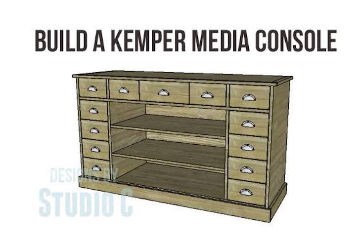 Free plans to build a Kemper Media Console.