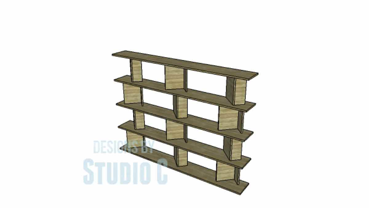 shelving units,bookcases,shelves,diy,free woodworking plans,free projects,do it yourself