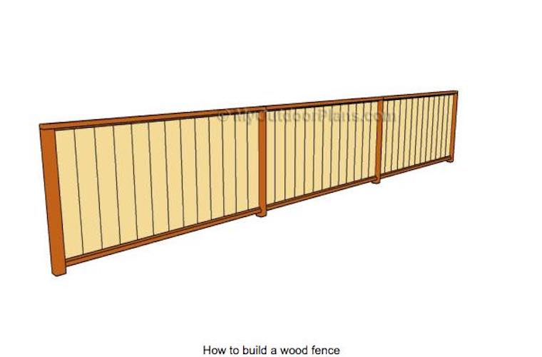 Free plans to build your own Fence.