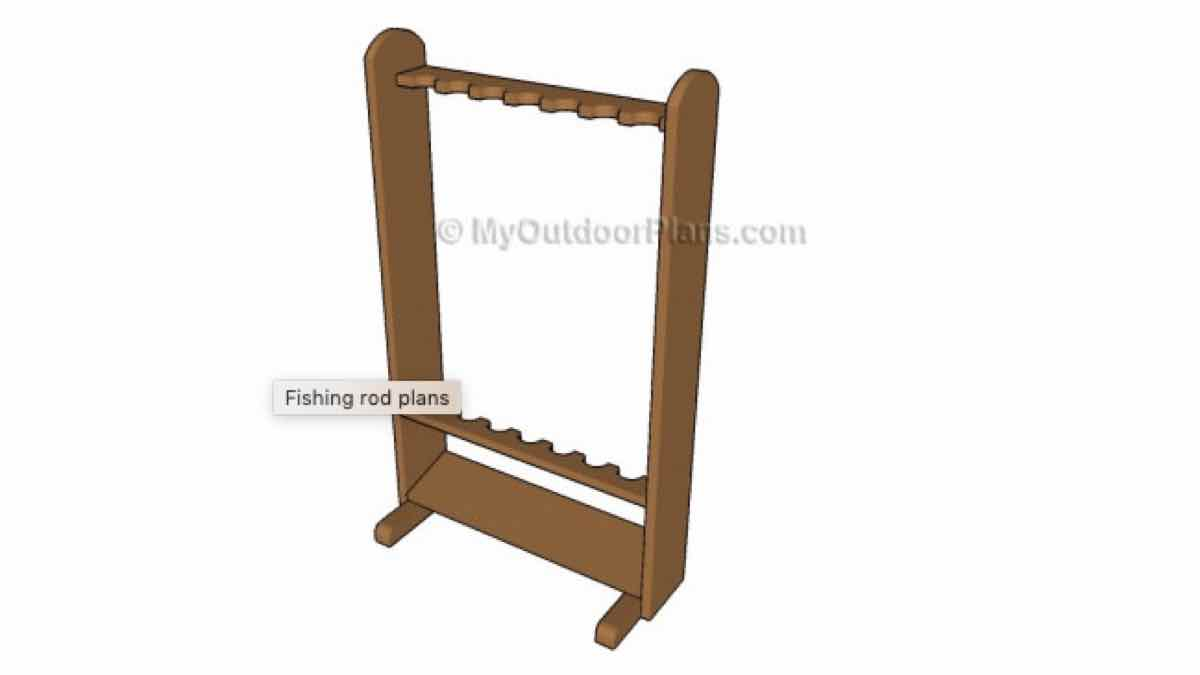 fishing rod racks,wooden,diy,free woodworking plans,free projects,do it yourself