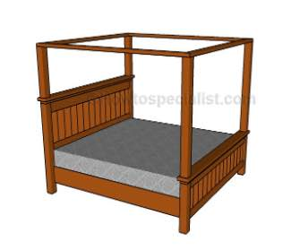 Learn how to Build a Canopy for your Bed.