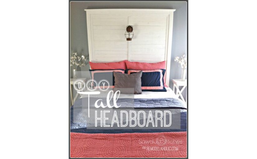 Tall Headboard with Slats