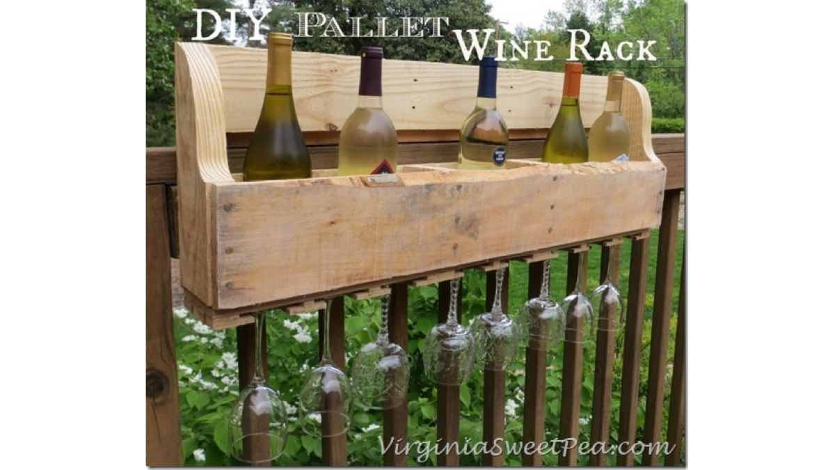 wine racks,pallets,recycling,diy,free woodworking plans,free projects,do it yourself
