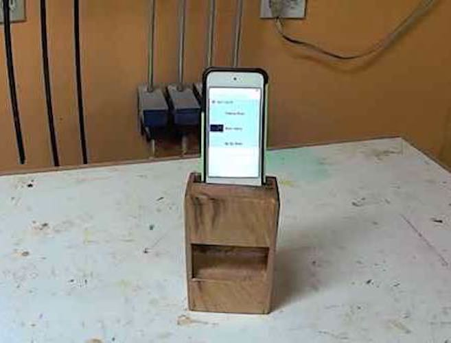 Build an iPod or iPhone Speaker using free plans.