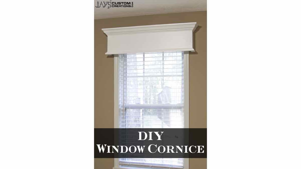 cornice,window cornice,diy,free woodworking plans,free projects,do it yourself