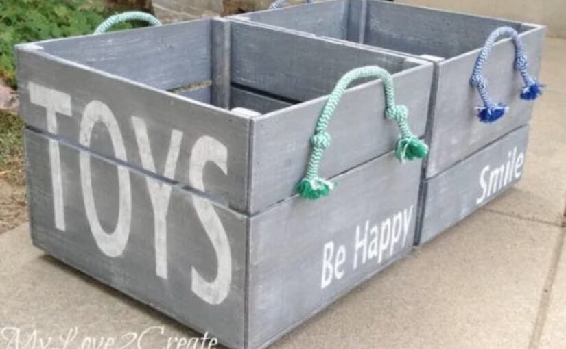Storage Crates for Toys
