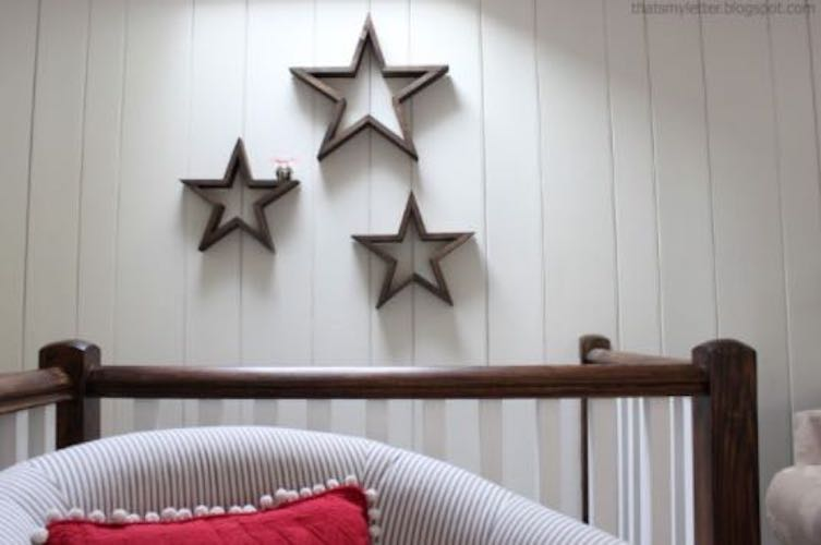 Free plans to build Wooden Stars.