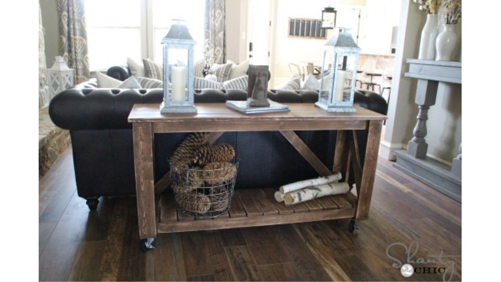 free woodworking plans,console tables,sofa tables,hall tables,furniture,diy,free projects,do it yourself