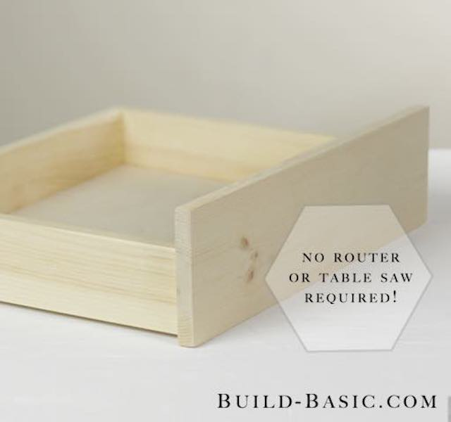 Learn how to build a basic drawer.
