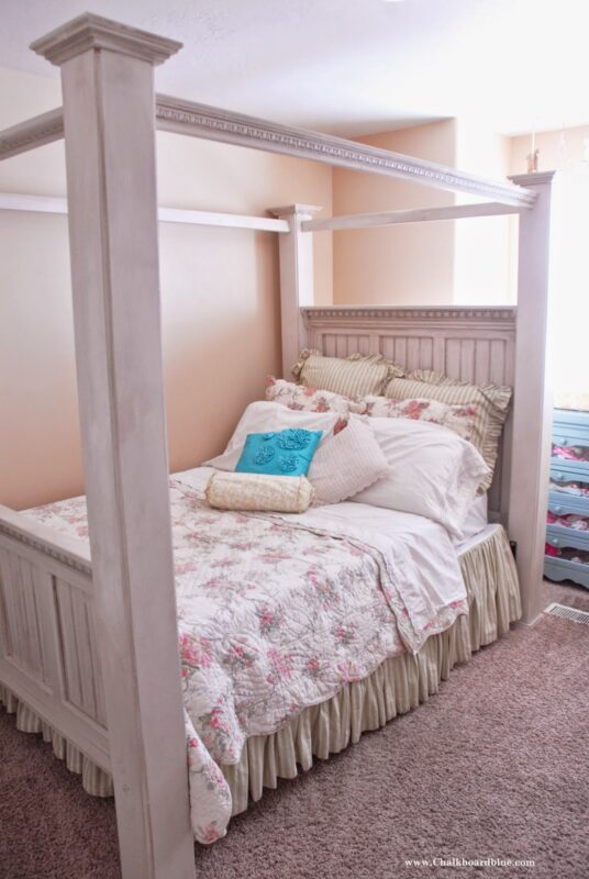 Build a Four Poster Double Bed.