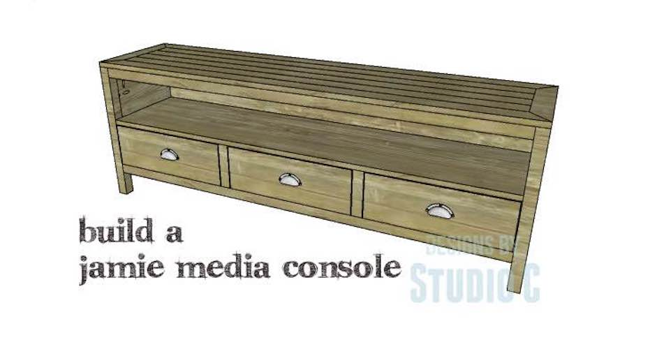 Build a media console using free plans.