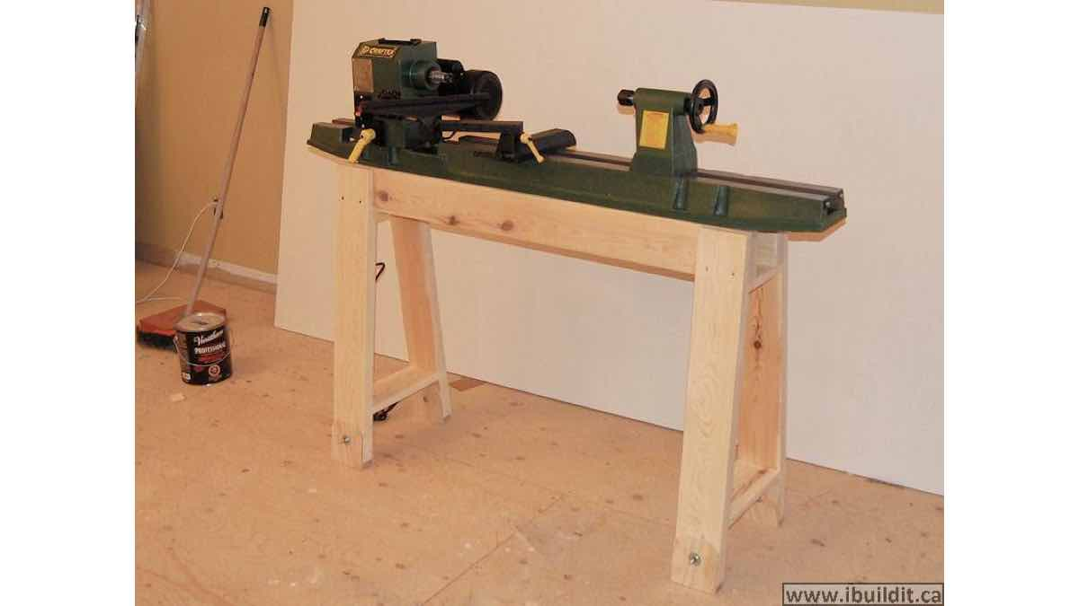 lathe stands,woodturning,diy,free woodworking plans,workshop projects,do it yourself