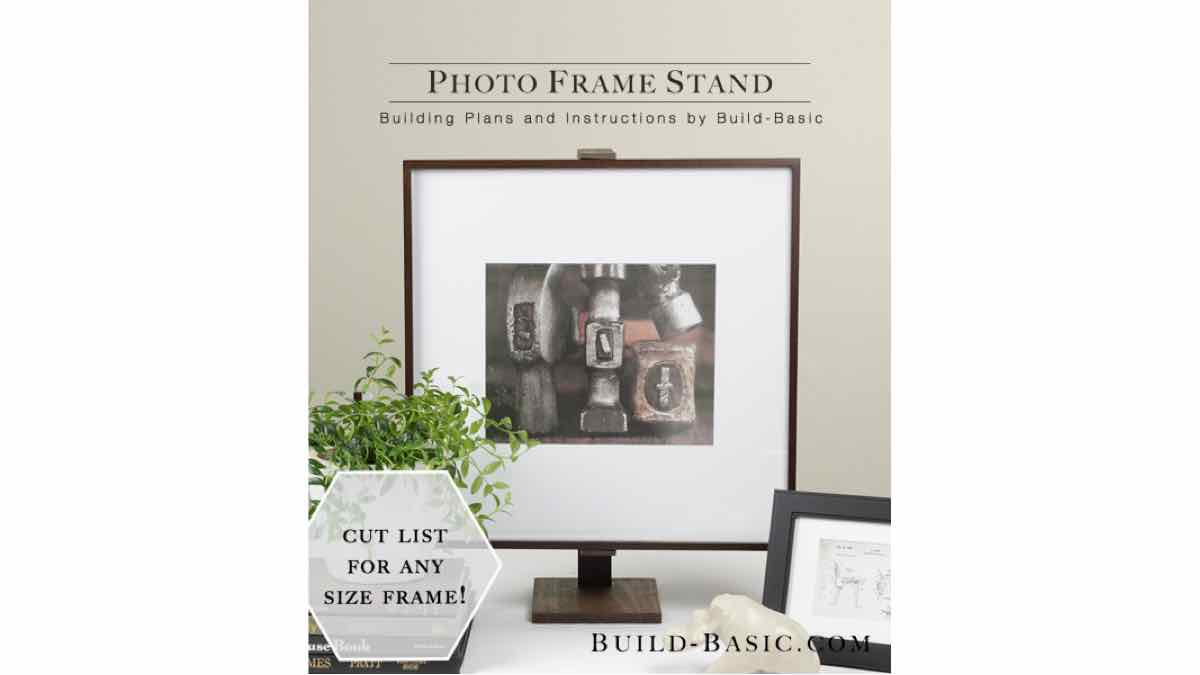 picture frame stands,photo frame stands,diy,free woodworking plans,free projects,do it yourself