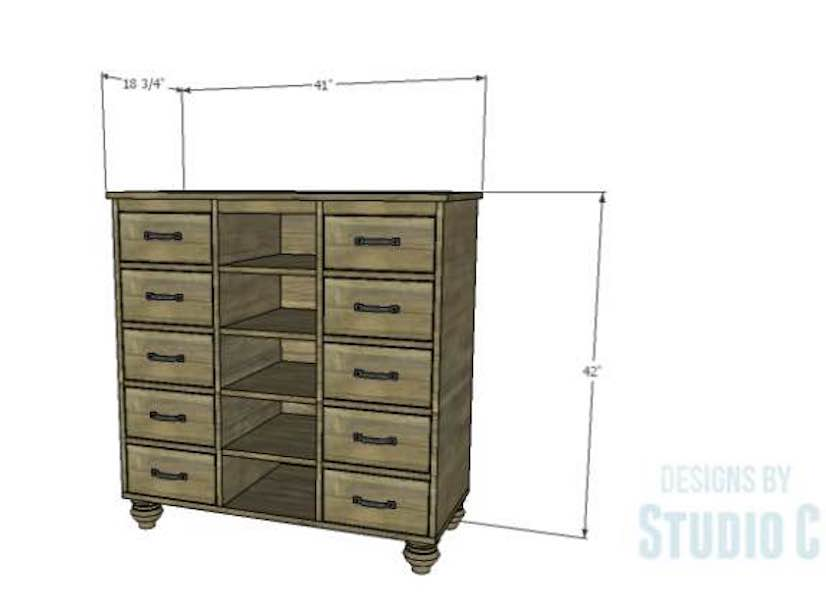 Build a Hadley Storage Cabinet using free plans.