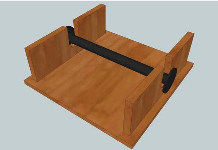Free plans to build a Simple Napkin Holder.