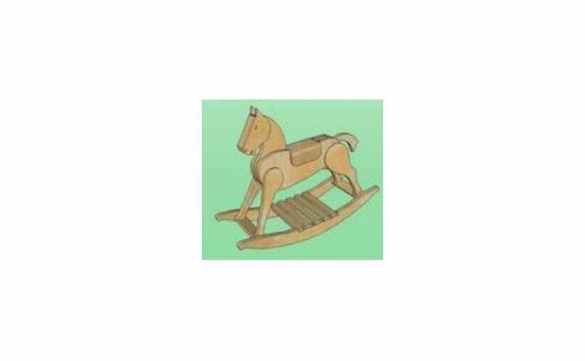 SketchUp Rocking Horse