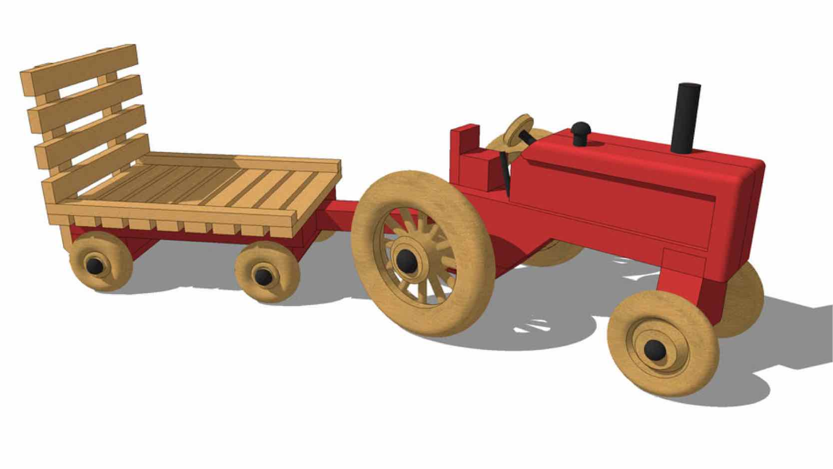 toys,tractors,childrens,diy,free woodworking plans,free projects,do it yourself