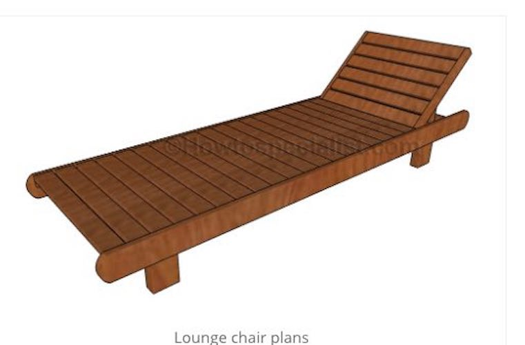 Learn How to Build a Lounge Chair.