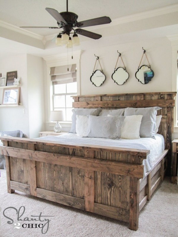 Free plans to build your own king size bed.