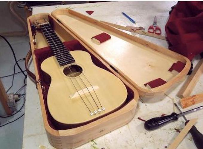 Free plans to build Instrument Case.