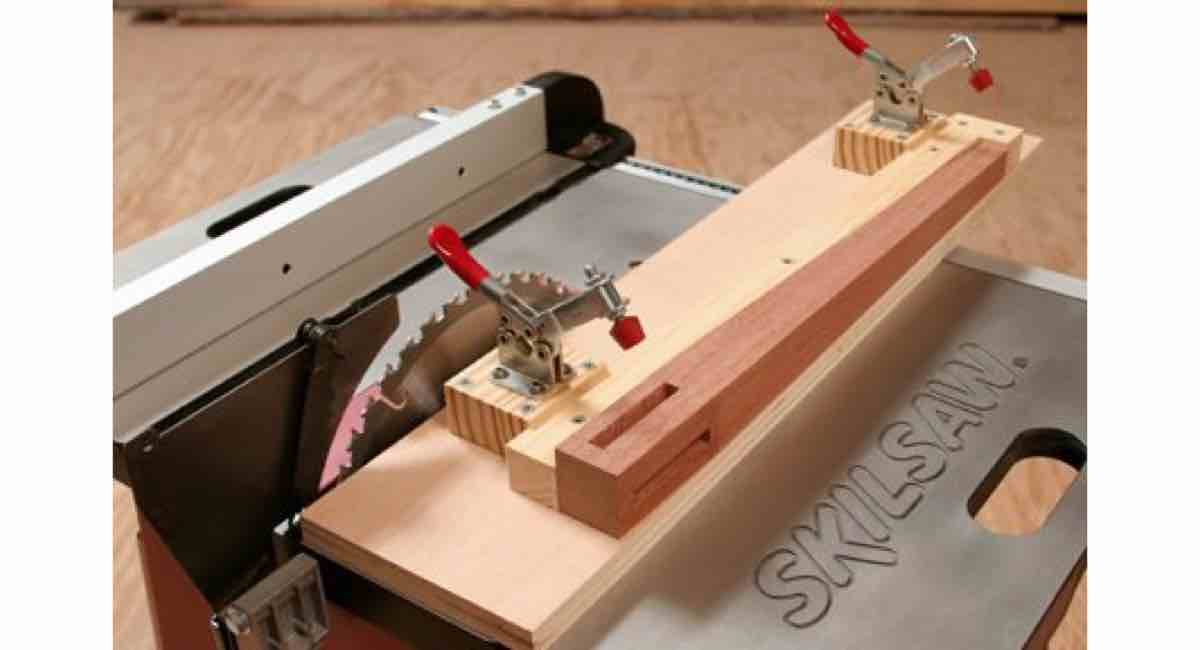 How to build a Table Saw Taper Jig