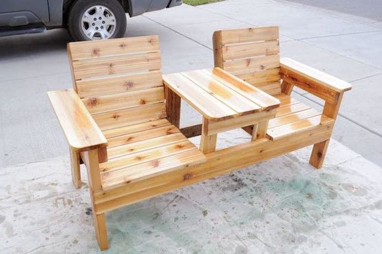 Double Patio Chair