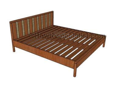 Learn to build a Platform Bed King Size.