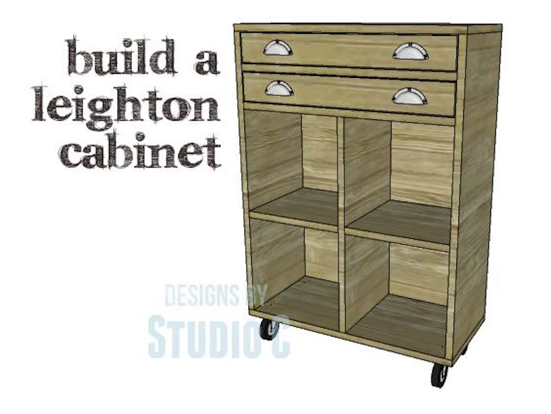 Build a Leighton Rolling Cabinet.