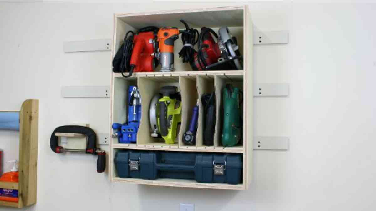 Fix and Build This Tool Storage Cabinet with free plans.