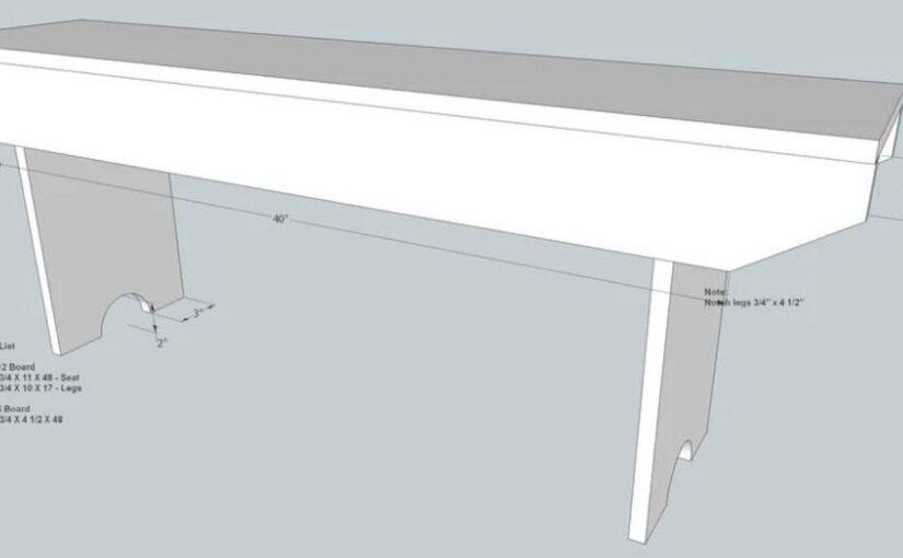 5 Board Bench