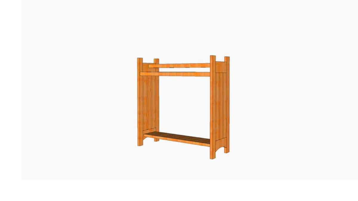 mission style,quilt racks,blanket racks,diy,free woodworking plans,free projects,do it yourself