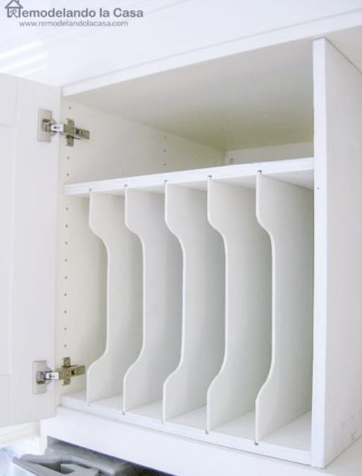 Build an Above the Fridge Divider using free plans.
