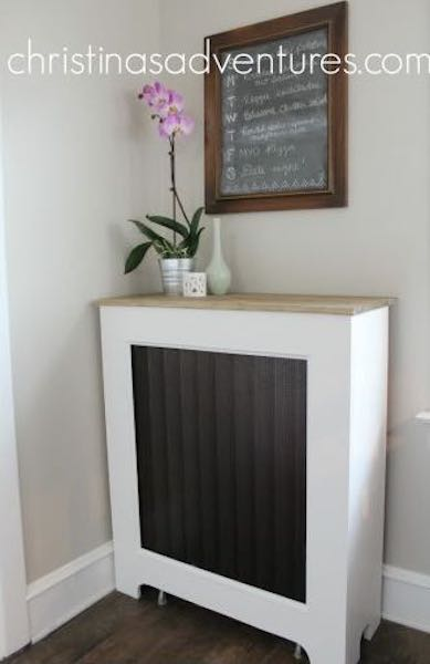 Free plans to build a Radiator Cover.
